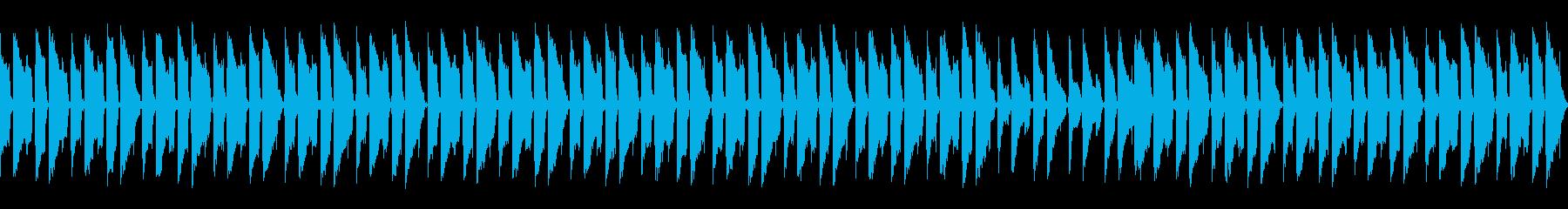 ゆったりしたムーディーなチルトラックの再生済みの波形