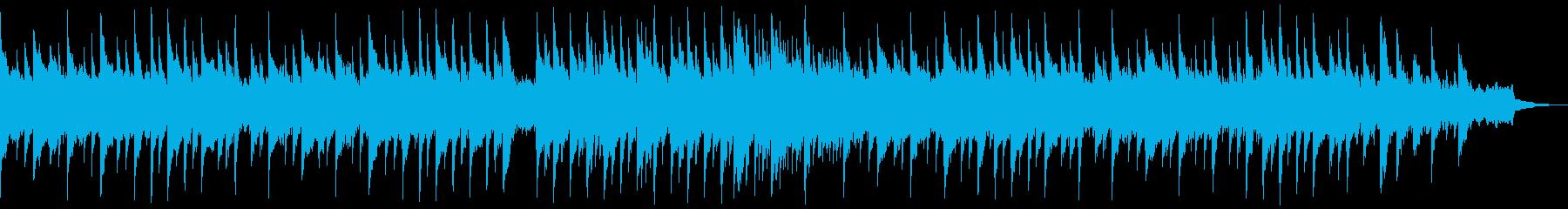 地底湖をイメージした透明感ある曲の再生済みの波形