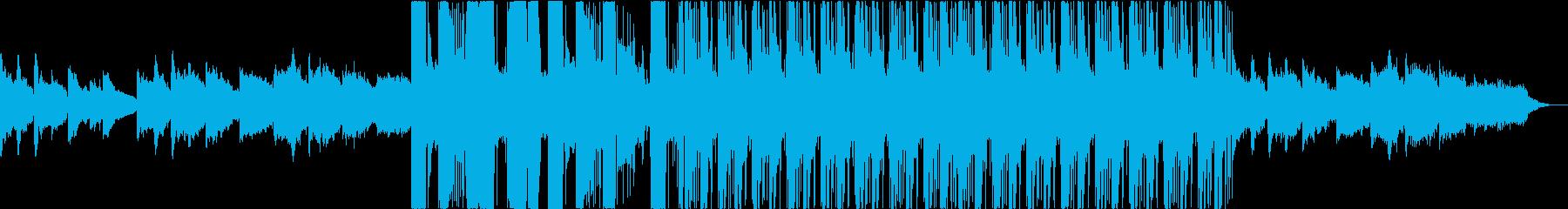 民族系・サイバー系・近未来風BGMの再生済みの波形