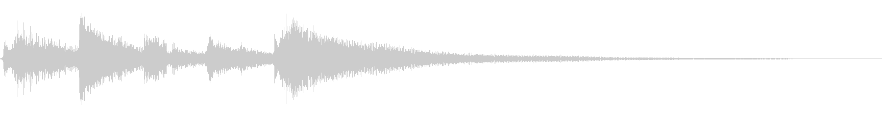★アコギジングル22/クール、おしゃれの未再生の波形