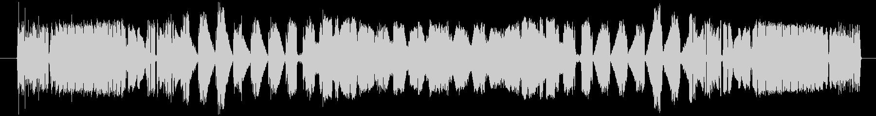 宇宙コンピューターの低効率データ処...の未再生の波形