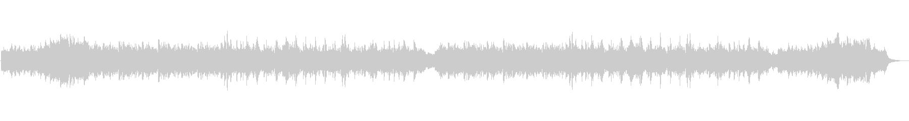 ピアノとシンセとオルゴールの癒しのBGMの未再生の波形