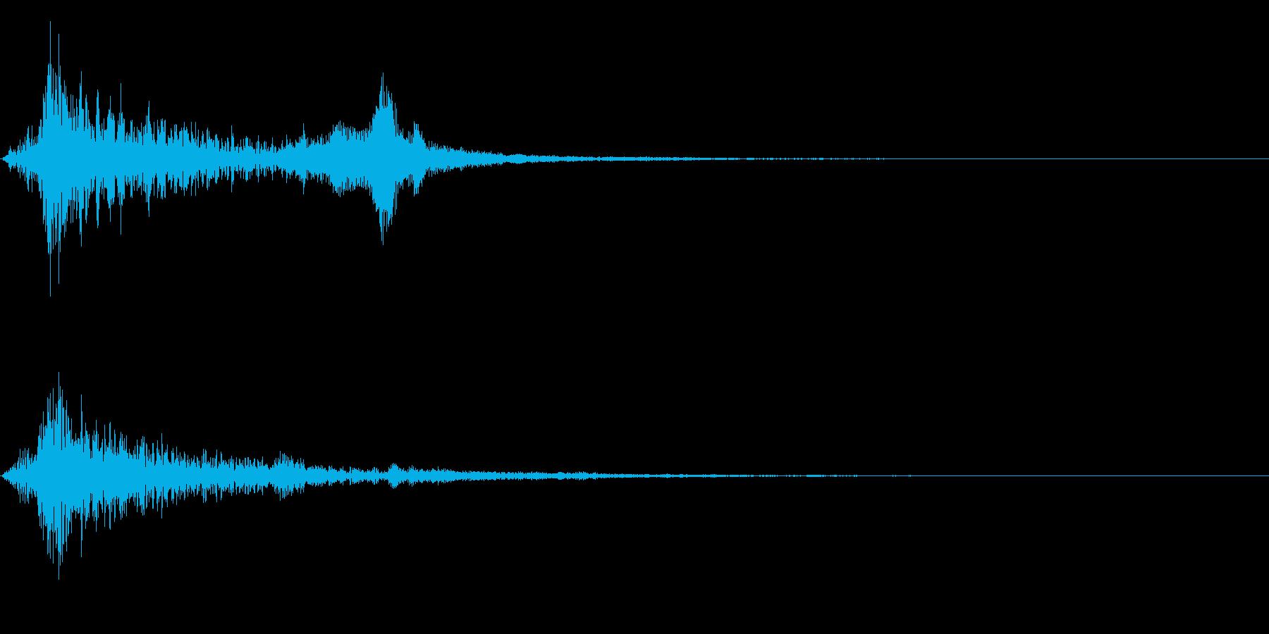 ドーン衝撃音ホラーサスペンスに最適のSEの再生済みの波形