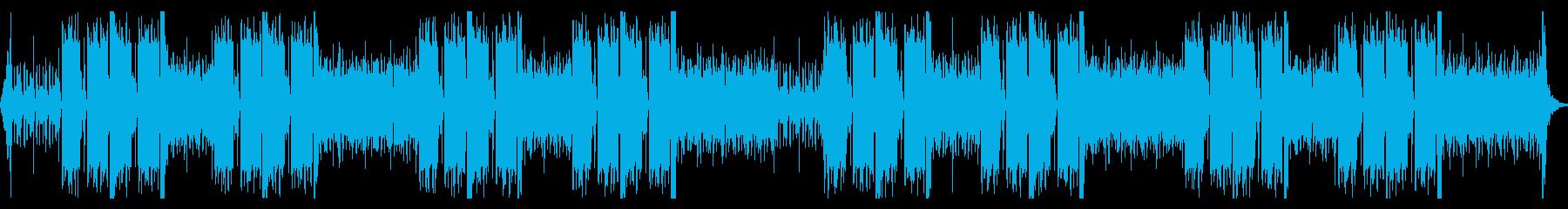 筋トレなど最大限の力を引き出すパワー曲の再生済みの波形