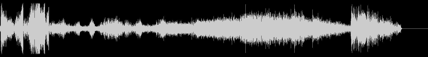 FMラジオ的ジングル9の未再生の波形