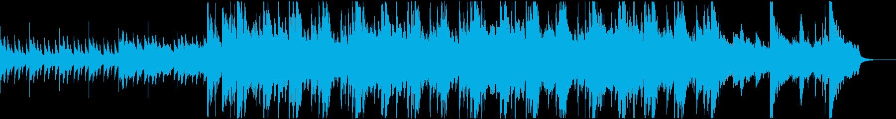 壮大なイメージの和風楽曲の再生済みの波形