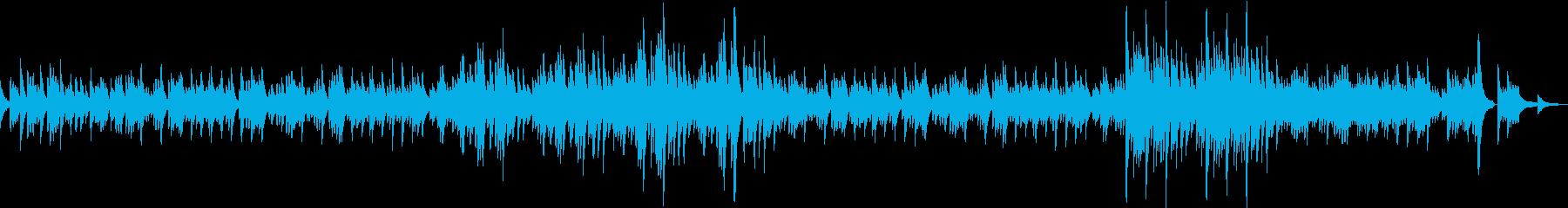 ピアノソロのセレモニー曲の再生済みの波形