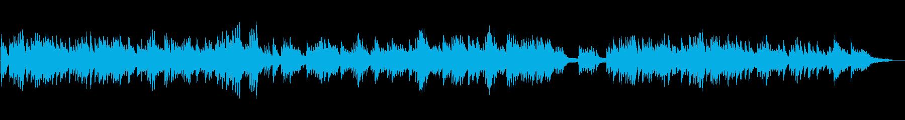 のびやかで明るい ピアノソロの再生済みの波形