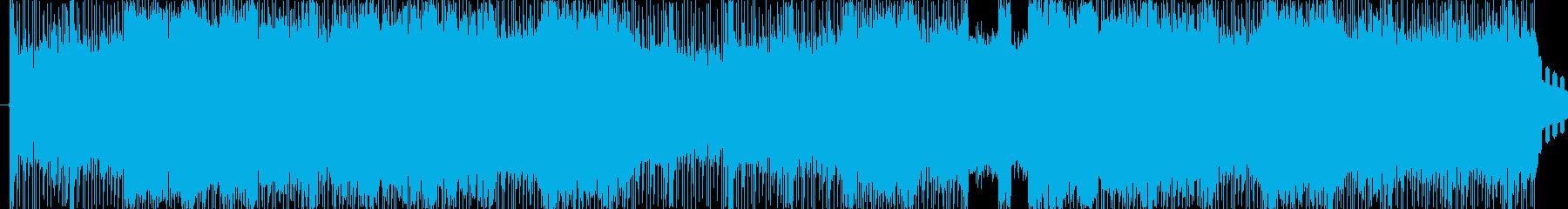 ロック調でクールなバンドサウンド。の再生済みの波形