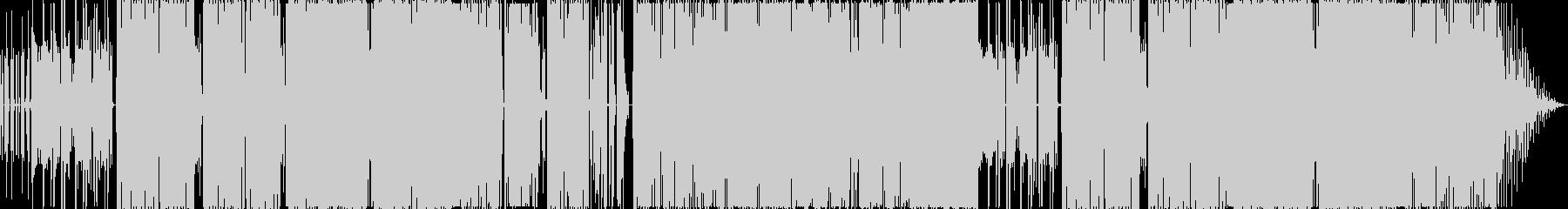 渋いテンポのファンクインストの未再生の波形