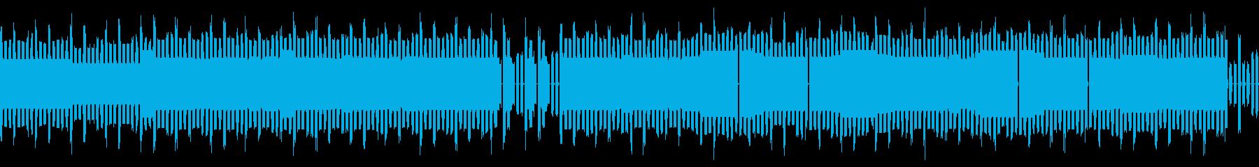 セガハード音源ベースのチップチューンですの再生済みの波形