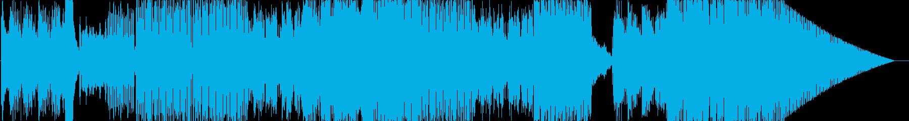 エレクトロニクス、ミニマリスト。電...の再生済みの波形