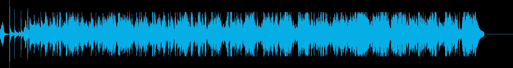 「トムウェイツ」は、滑らかな要素を...の再生済みの波形