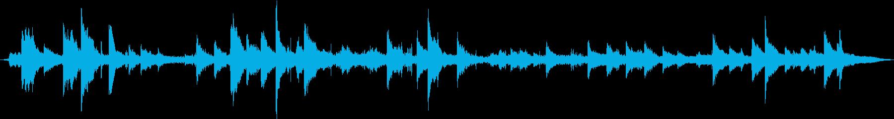 大型オーシャンブイ:メタルベル:常...の再生済みの波形