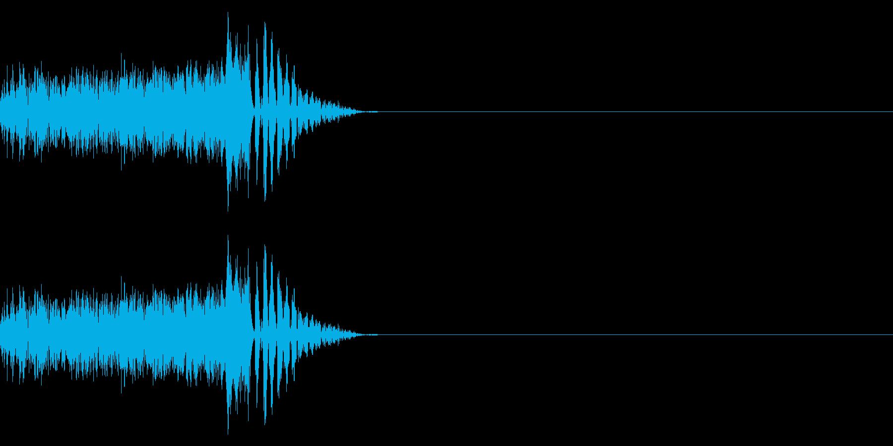 パカッ/ポンっ/卵の再生済みの波形