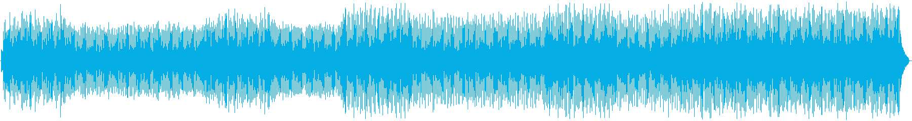 モダンなドラムループ、アコースティ...の再生済みの波形