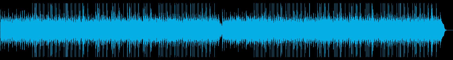おだやかな海のような三線の沖縄BGMの再生済みの波形