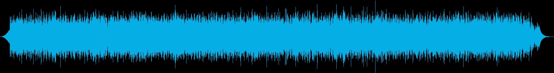 爽やかで軽快なサウンドが水音の癒やし効果の再生済みの波形