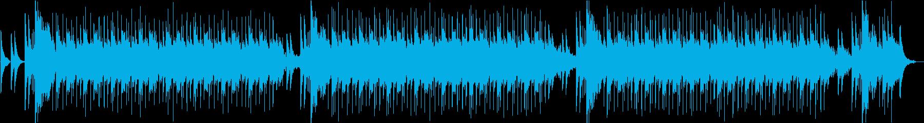 マリンバや民族楽器による可愛らしい作品の再生済みの波形