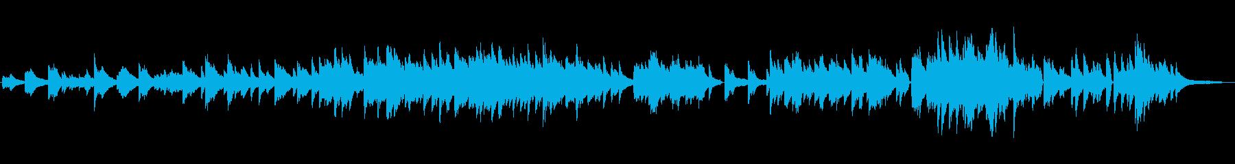 生ピアノソロ・音楽が伝えてくれるものの再生済みの波形