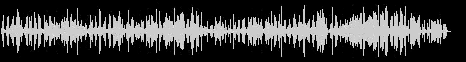 リコーダーの元気で可愛い曲2の未再生の波形