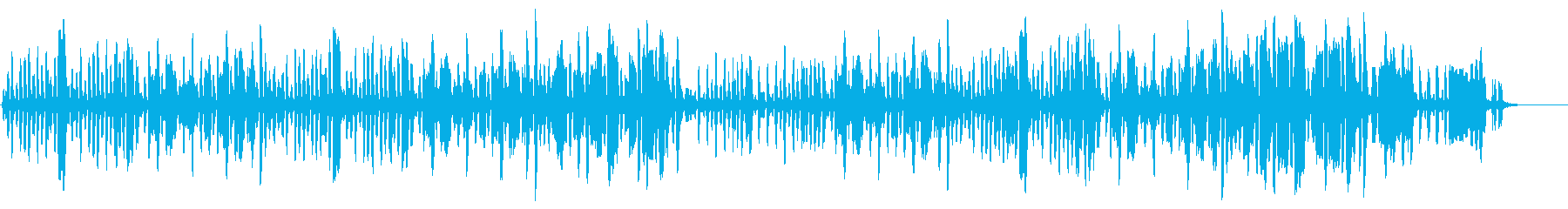 リコーダーの元気で可愛い曲2の再生済みの波形