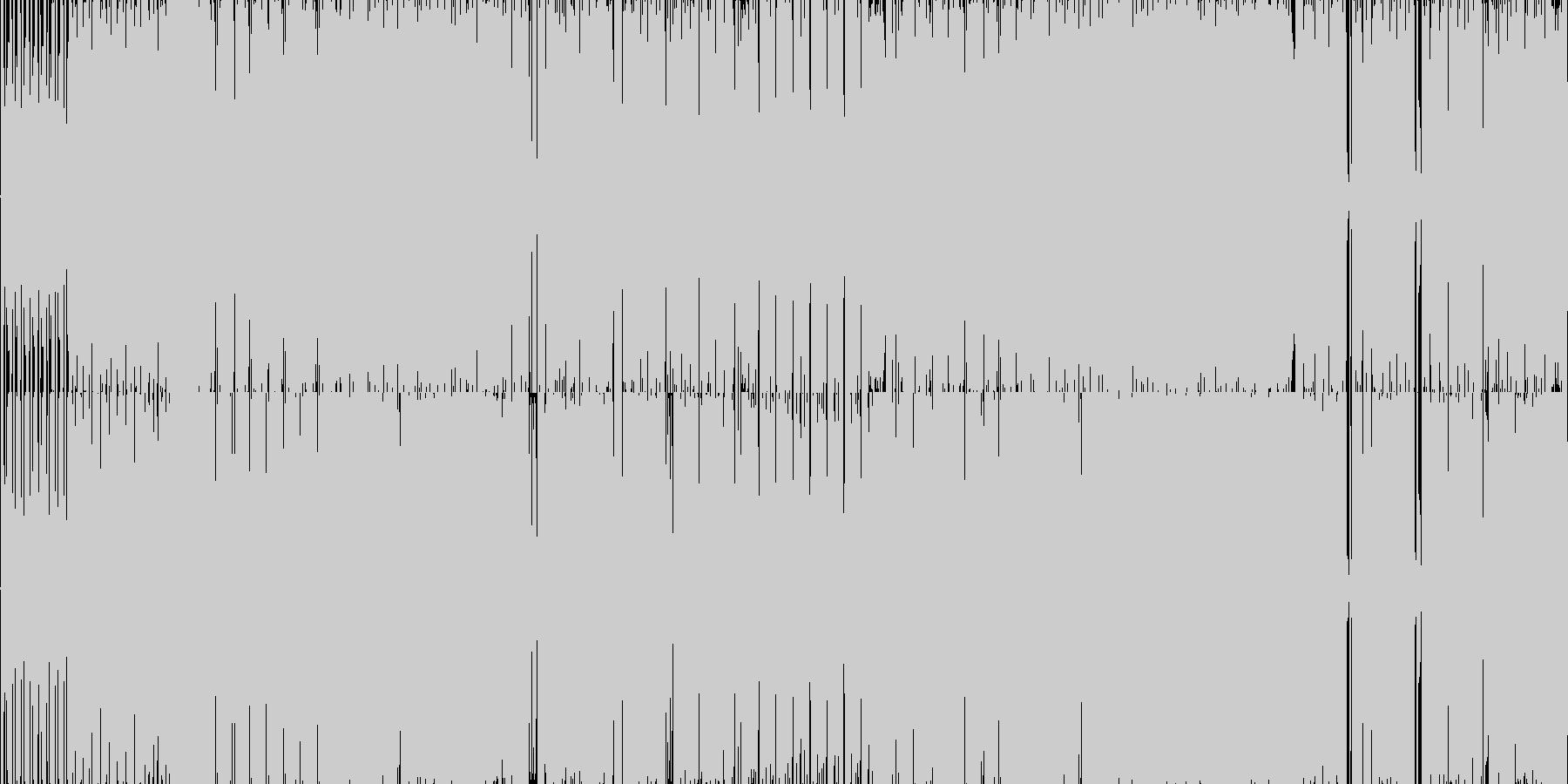 ゴキゲンなアッパーチューンです。の未再生の波形