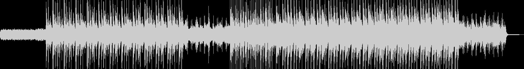 電脳・空想科学的なエレクトロ エレキ無Bの未再生の波形