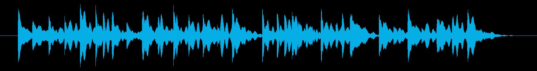 オルゴール七夕の再生済みの波形