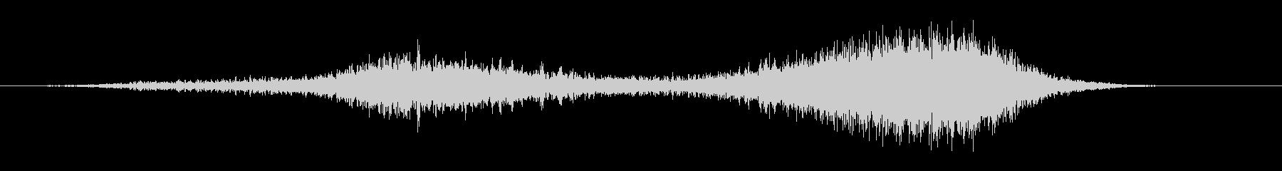 シャープティアリングフーシャ3の未再生の波形