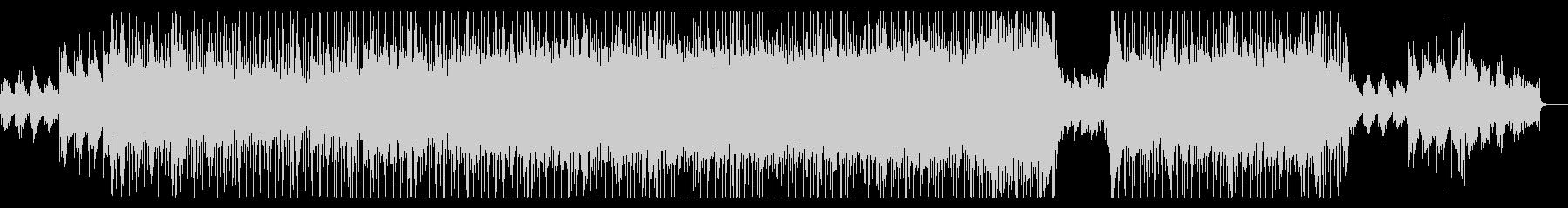 エンディング感のあるメロディアスロックの未再生の波形
