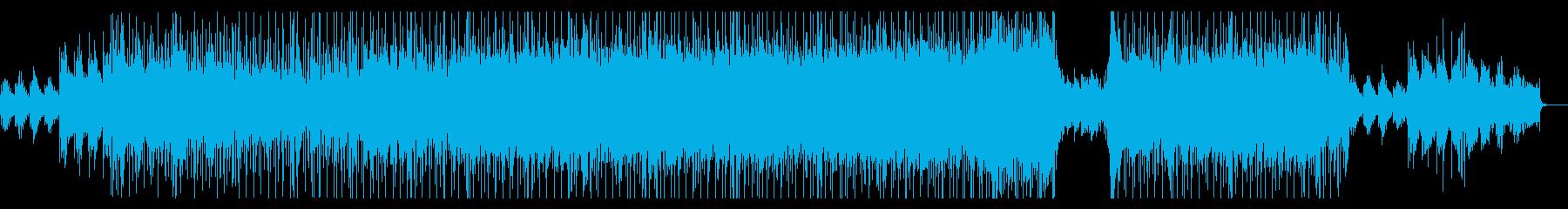 エンディング感のあるメロディアスロックの再生済みの波形