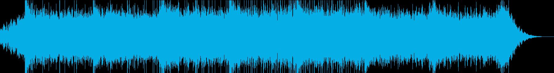 広がりのある自然を感じる曲調の再生済みの波形