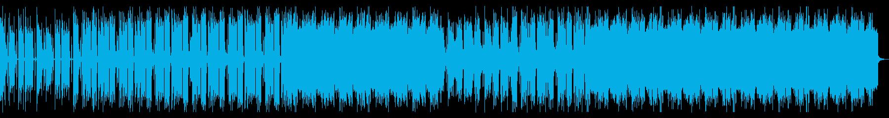 禍々しいロック_No689_1の再生済みの波形