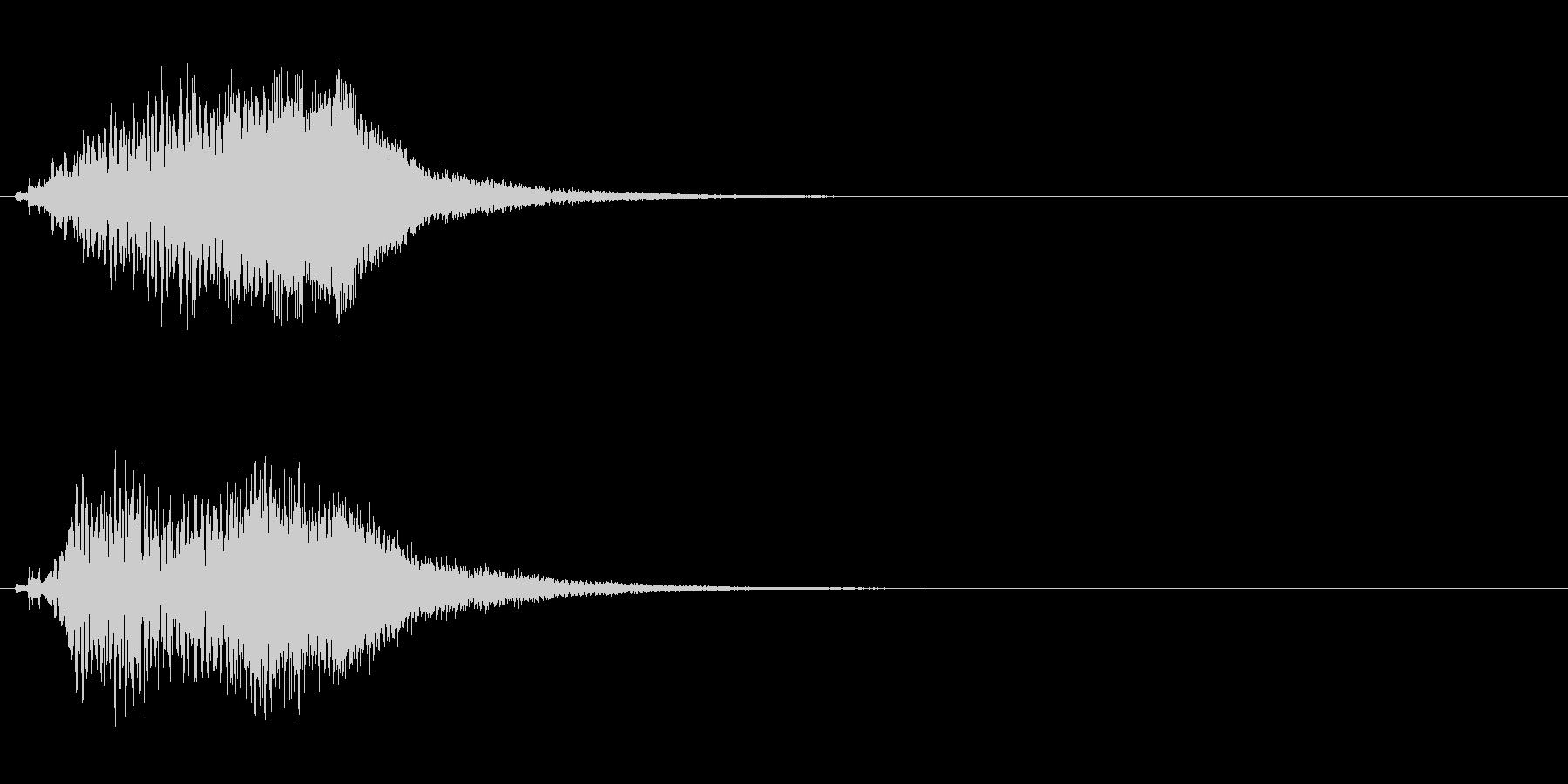 ハープ・上昇_4-2の未再生の波形