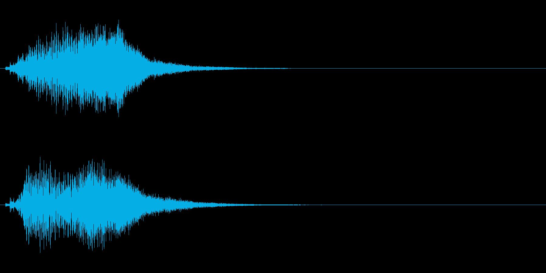 ハープ・上昇_4-2の再生済みの波形
