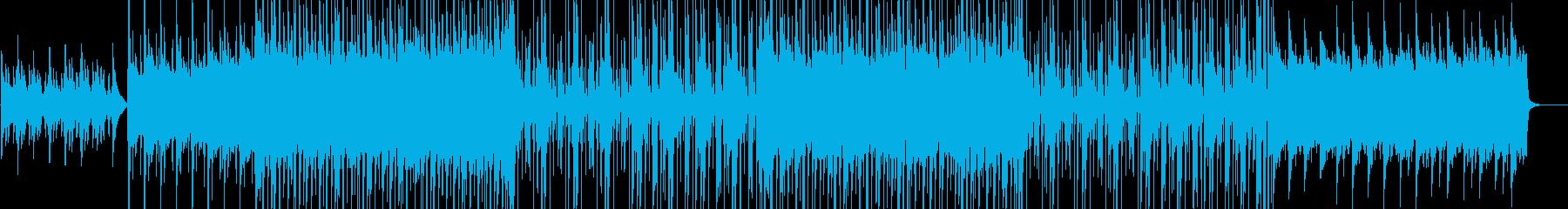 爽やか、ほのぼのポップスの再生済みの波形