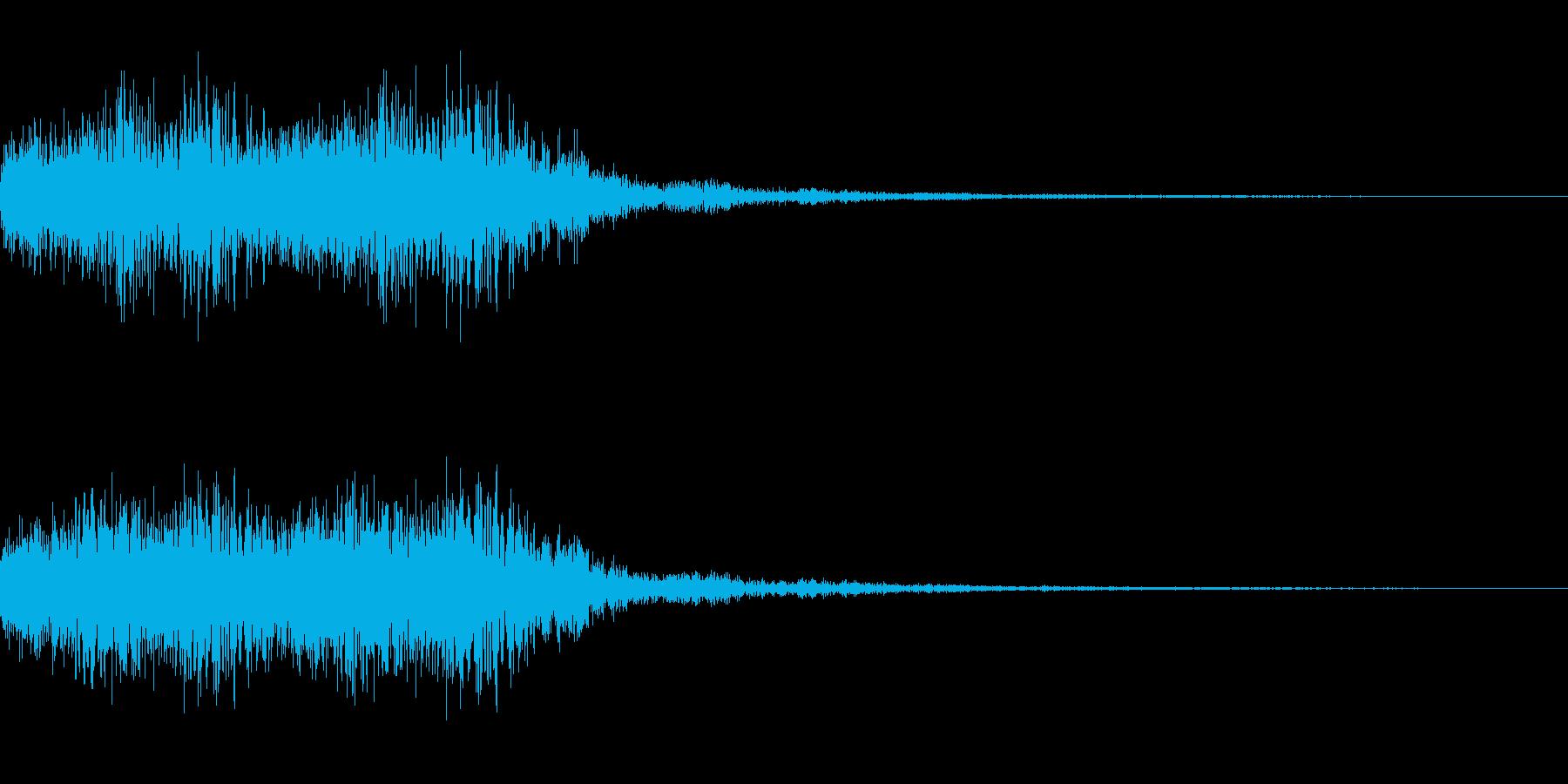 混乱系・アラート音/トゥルルルx4の再生済みの波形