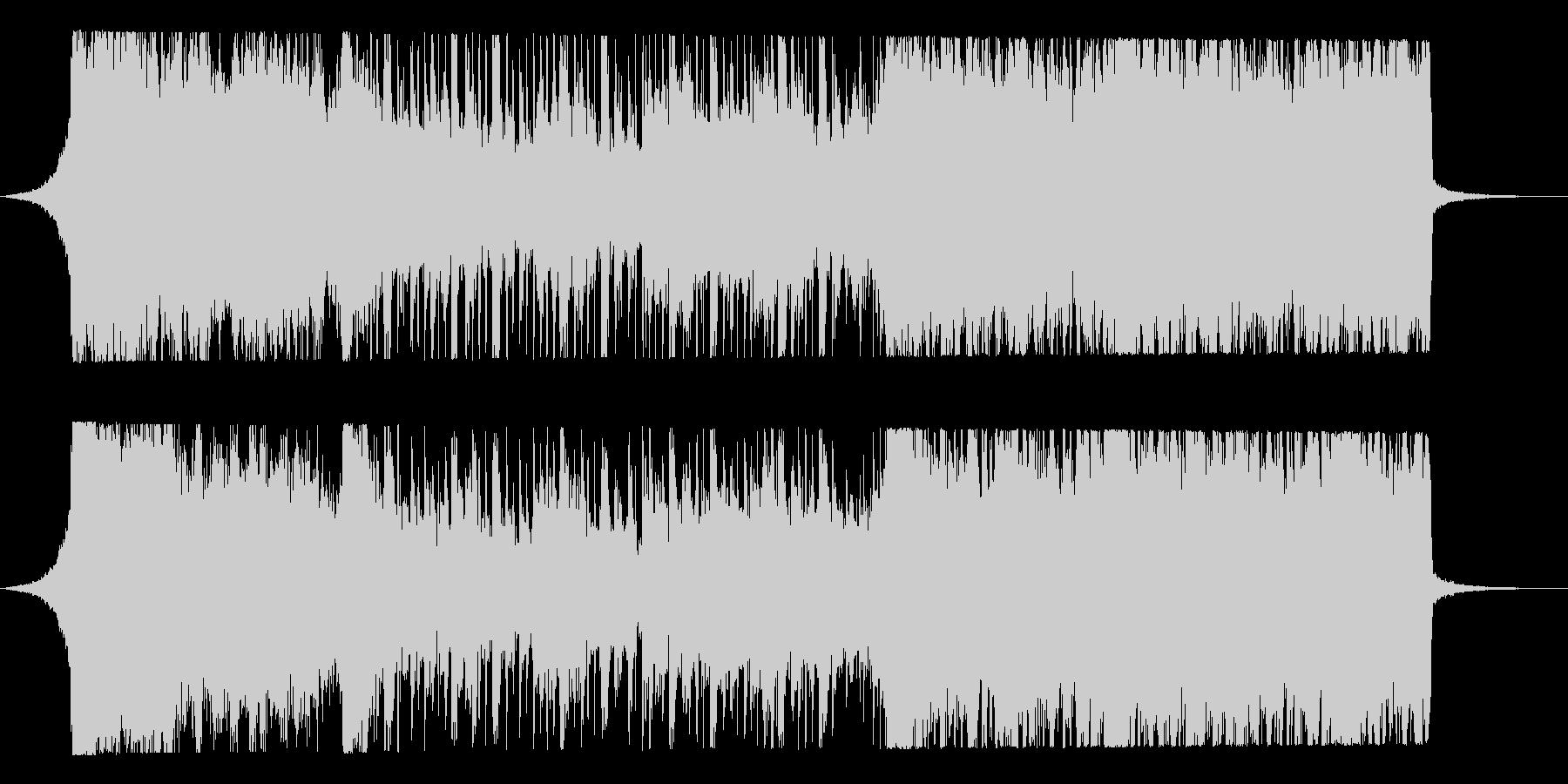 荘厳なシンセオーケストラの未再生の波形