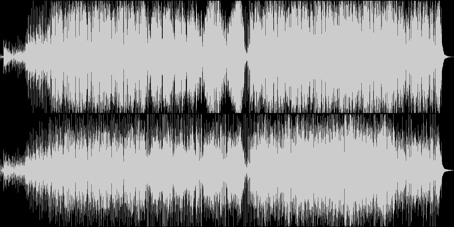 バイオリンのおしゃれで少し切ない感動系の未再生の波形