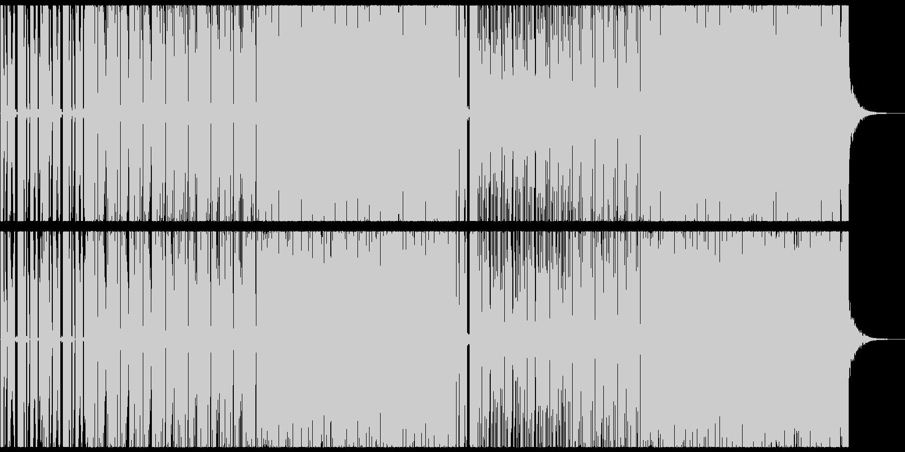 爽やかでカワイイエレクトロポップの未再生の波形