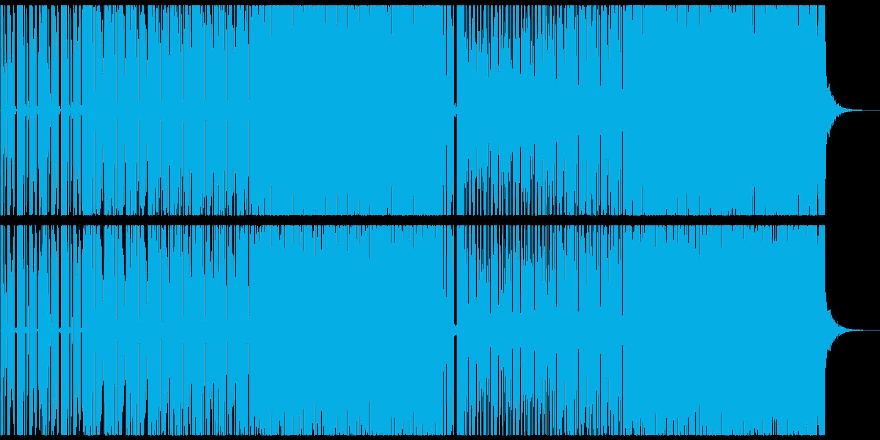 爽やかでカワイイエレクトロポップの再生済みの波形