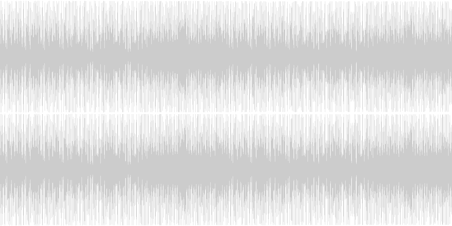 三味線使用和風ヒップホップインストループの未再生の波形