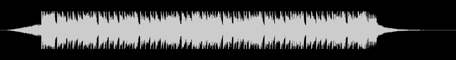 オリエンタル(30秒)の未再生の波形