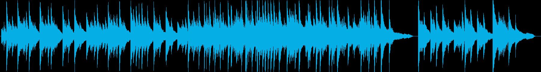 クラシカルな雰囲気のピアノソロ曲ですの再生済みの波形