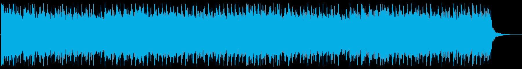 電子/疾走感/ロック_No358_4の再生済みの波形
