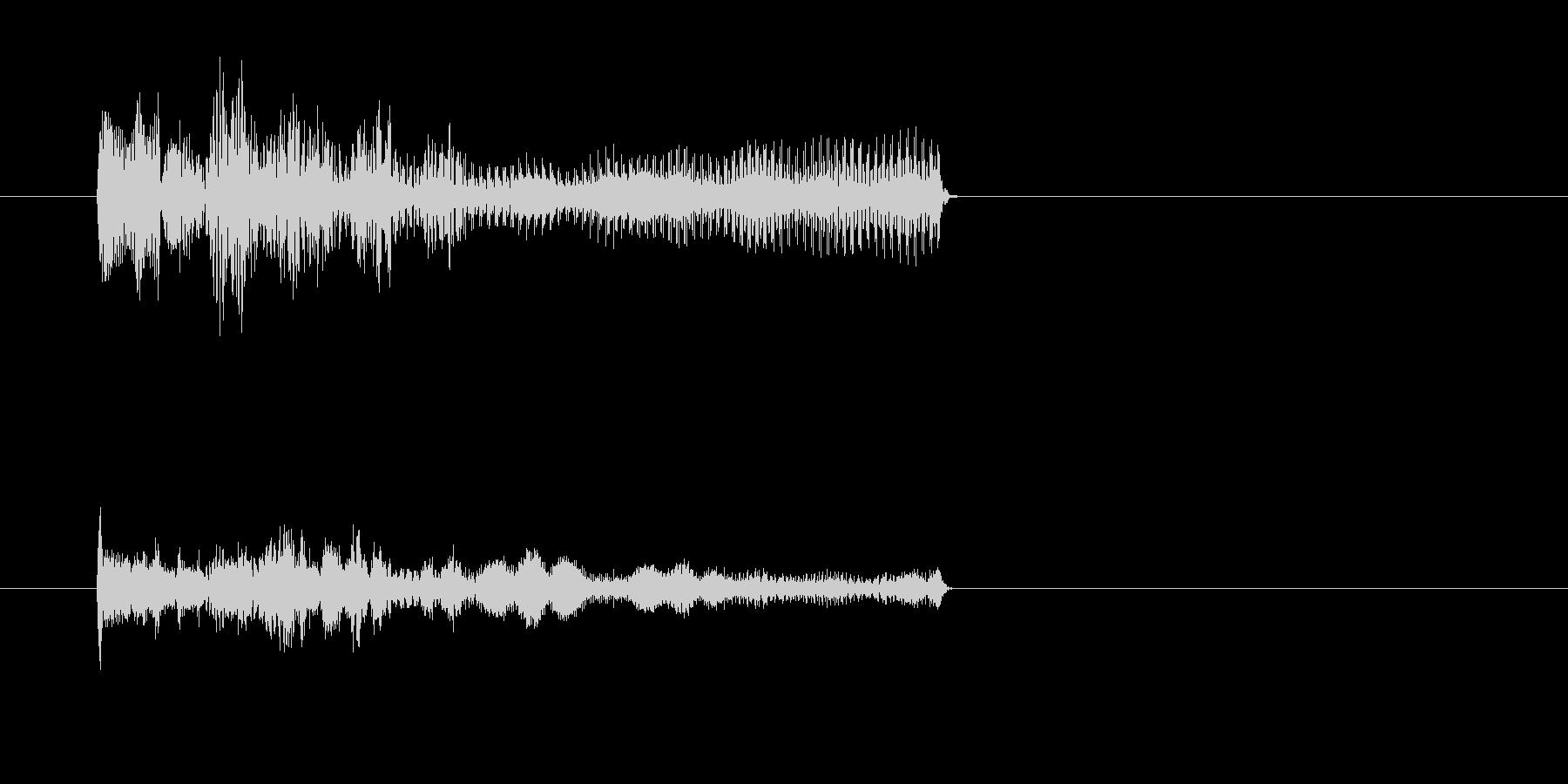ティリリリリー/オルガン音、死亡、失敗音の未再生の波形