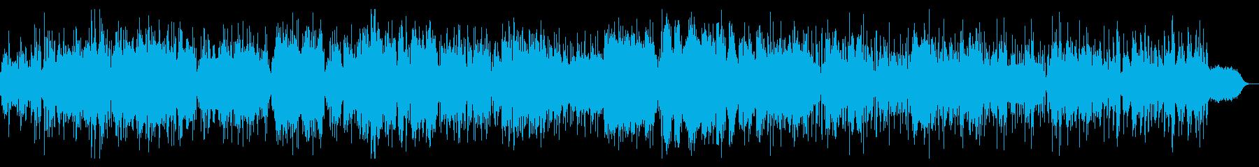 リズムとテクスチャのシンプルIDMの再生済みの波形