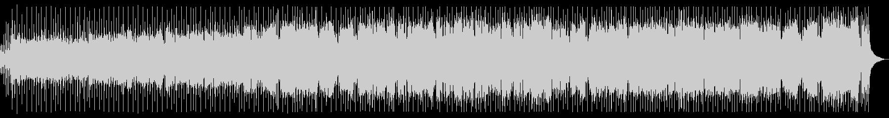 ザクザクギターのスピード感ある8ビートの未再生の波形