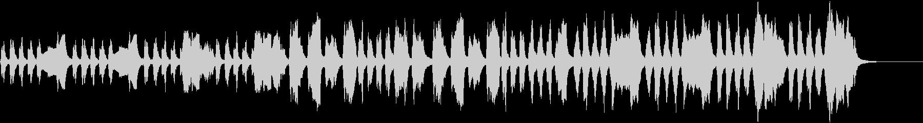 ほのぼのクラシック管楽器の未再生の波形